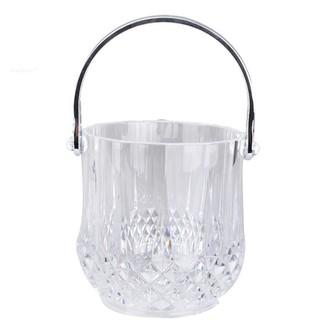 壓克力水晶冰桶 小冰桶 透明冰桶透明冰桶 可視塑膠冰桶 實用型_J005D
