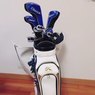 Kasco 二手高爾夫球具組(含球袋)