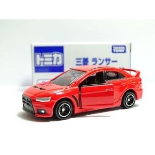 tomica 多美 小車 模型 絕版 日本 三菱 lancer EVO X 10代 展場 限定 紅色 跑車
