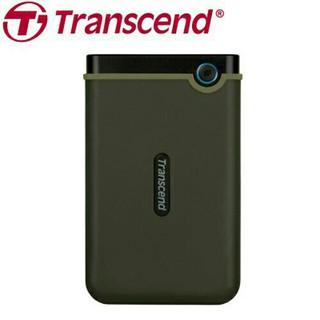 Transcend 創見 25M3E 1TB USB3.0 2.5吋 軍規防震 行動硬碟 (軍綠)