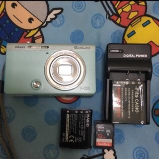 CASIO ZR55美膚相機