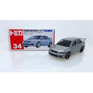 TOMICA No.34 三菱 EVO VI