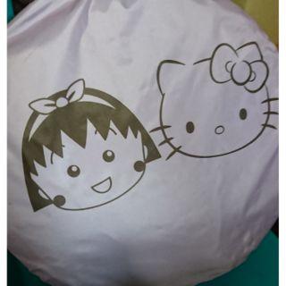7-11櫻桃小丸子&kitty遮陽帳