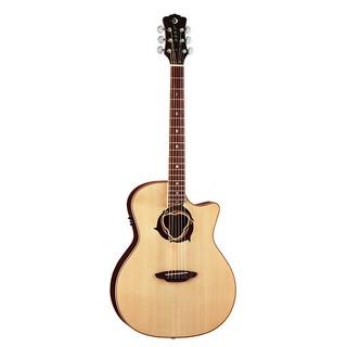 【旅行吉他專門店】LUNA OCL DPN 海豚響孔 (雲杉單板) 插電吉他 民謠吉他 木吉他 含拾音器