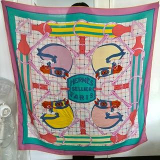 HERMES愛馬仕cashmere圍巾150x140 2017雜誌款