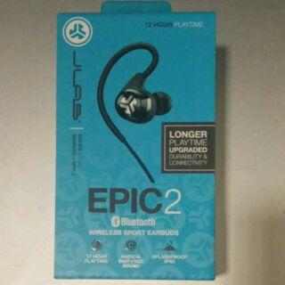 全新jlab epic2無線藍芽運動耳機 黑色