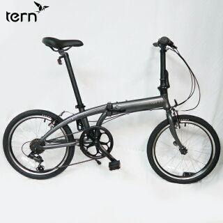 特價出清【Tern】Link A7 鋁合金20吋7速折疊單車-灰底灰標