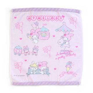 日本 三麗鷗限定 My Melody 美樂蒂 草莓遊樂園 方巾