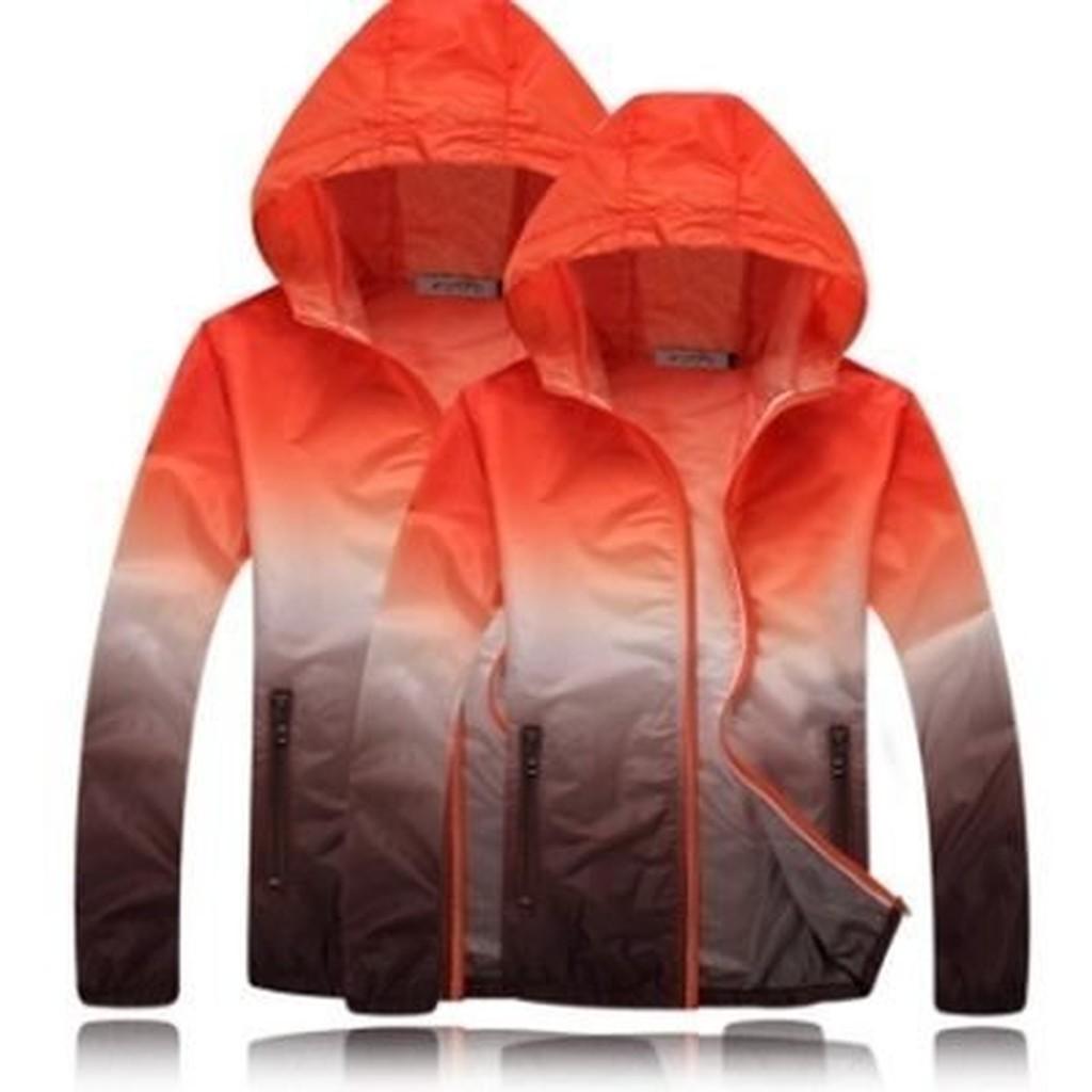 防曬外套 連帽夾克(單件)-防風防水遮陽透氣男女外套4色73ei13[獨家進口][米蘭精品]