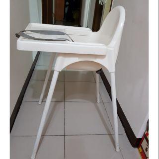二手 IKEA嬰兒餐椅 兒童餐椅 餐桌椅 高腳椅,可摺疊收起不佔空間