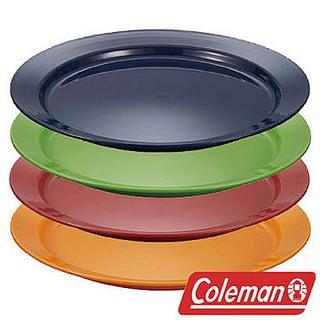 Coleman 北歐色彩盤組 - 4PCS 戶外餐盤 CM-21909 戶外 露營