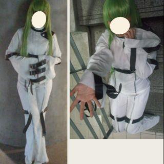 Code geass反叛的魯路修 反逆的魯魯修 CC C.C. 一期 拘束衣 cos服