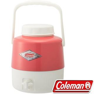 Coleman CM-27866_草莓紅 手提復古4.9L經典飲料桶 保冷水壺/行動小冰箱/收納保冷桶 公司貨