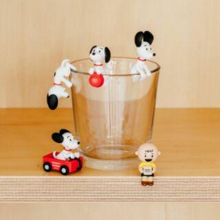Snoopy 史努比 博物館 限定 杯緣子 小全