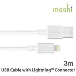Moshi lightning 3M充電傳輸線