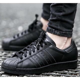 現貨 愛迪達 金標 全黑 全白 ADIDAS ORIGINALS SUPERSTAR 雷射 滑板鞋 男女鞋  休閒鞋