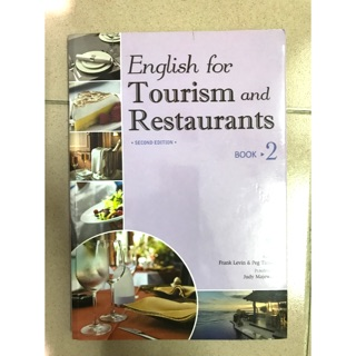 English for Tourism and Restaurants