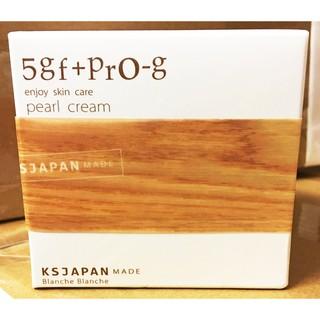 日本製 Blanche Blanche 5GF+PRO-G Pearl Cream 保濕精華霜 50g 光伸真珠免稅店