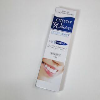 CITEETH WhiteEX 美白牙膏