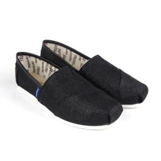 【Treasure】正版 懶人鞋 類似TOMS無感休閒鞋-黑