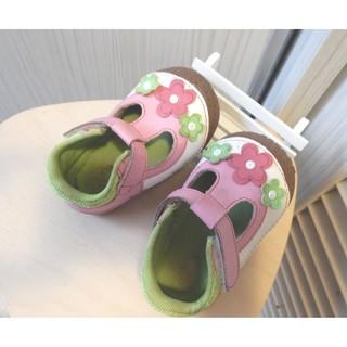 麗嬰房品牌 My nuno  小花鞋