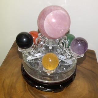 七星陣水晶球組