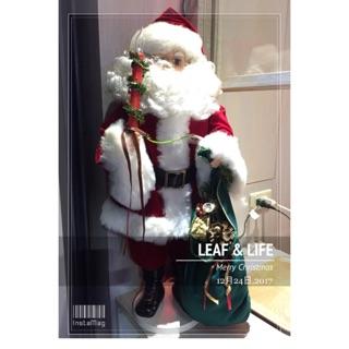 站立插電式 聖誕老人擺飾-愛心義賣