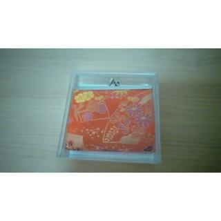 日式 和風 布花  零錢包 (方)