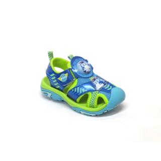 腳長14.5~18.5公分❤7110 ❤ 波力救援小英雄 POLI 兒童電燈護趾運動涼鞋