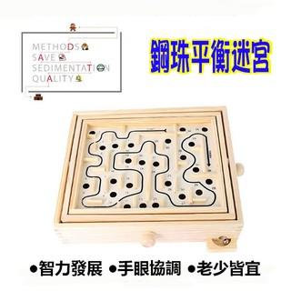 【省錢博士】木制 鋼珠平衡迷宮 掌上迷宮 木制迷宮遊戲盒 259元