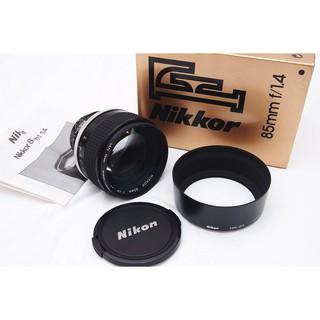 Nikon Ais 85mm F1.4 人像鏡頭