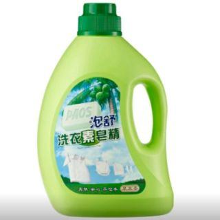 泡舒洗衣素皂精2000g