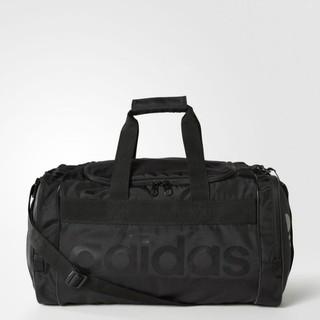 美國百分百【全新真品】Adidas 旅行袋 愛迪達 運動包 手提 提包 側背包 肩背 中性 男包 女包 黑色 I801