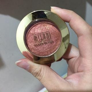 Milani Baked powder blush %23Rose D'oro
