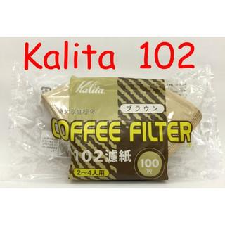 ❀沐享咖啡❀ Kalita NK 102 土 扇形 無漂白 濾紙 咖啡濾紙 100入