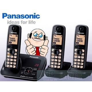 【3C數位館】Panasonic 2.4G數位雙手機無線電 KX-TG3721+2/KX-TG3723 數位答錄.高頻率