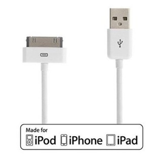 ~ 衝 買一送一~Apple 六芯型傳輸線iPhone4 4S iPad2 New ipa