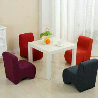 超多色∼可拆洗迷你沙發椅穿鞋椅靠背小椅凳L型小椅子