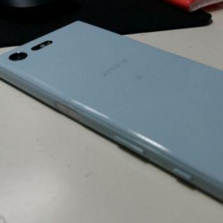 Xperia x compact 天瓷藍