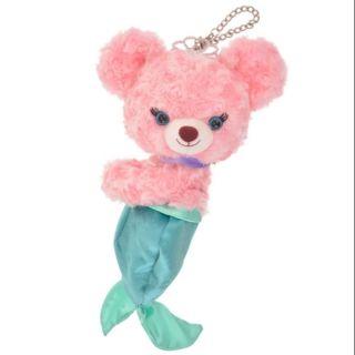 日本帶回 迪士尼 大學熊 小美人魚 側掛包 娃娃 玩偶 收納包