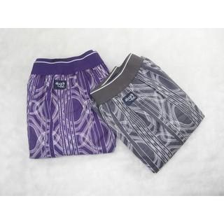 sloggi men~超舒適純棉平織平口男褲(903A 紫色),個性幾何款,M 號,只要170元~