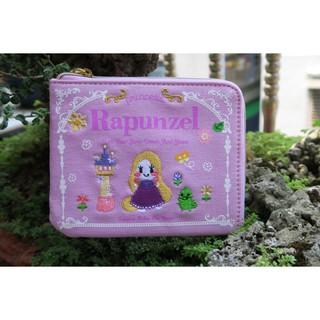 日本東京迪士尼專賣店~~長髮公主Rapunzel刺繡零錢包+面紙包