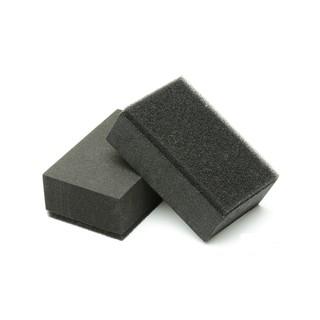 鍍膜海綿 附绒布 鍍膜專用棉 鍍膜  鍍膜塊 輔助海綿 汽車美容 專業貼合不脫膠