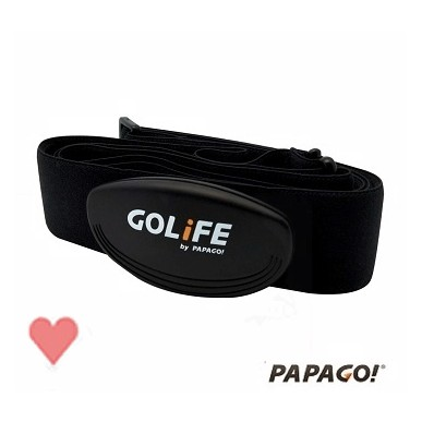 PAPAGO! GOLiFE Heart TP3 ANT+心跳帶 CARE CAREX 820I 可用