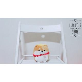 [ 珞珞小舖 ] 正版授權 TUN SHINE 狗狗觀察日記 柴柴 背包裹系列 超軟 6吋 玩偶