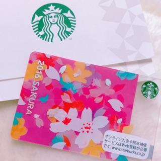 現貨 星巴克 2016日本限定 櫻花隨行卡 空卡