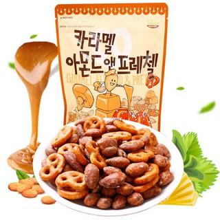 韓國焦糖杏仁果&蝴蝶餅210g