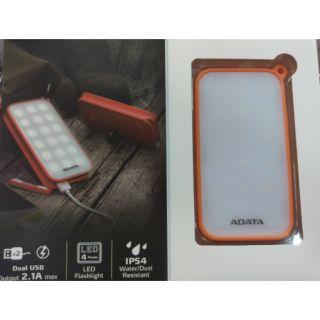 ADATA威剛-可充電LED照明行動電源(D8000L)