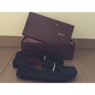TOTAL MAI偷偷賣老公BALLY 好萊塢超夯 經典款 US9(42)碼 黑皮鞋/牛津鞋/休閒鞋