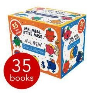 Mr. Men & Little Miss All New Story Collection-35 Books
